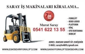Eskişehir Forklift Kiralama